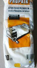 PROPAIR 10 sacs pour aspirateur ELECTROLUX Z303 Z305 Z307 Z312