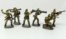 Vintage ATLANTIC Modern Commandos x 6. Painted to an attractive gloss finish.