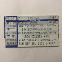 311 Buckcherry G Love BankBoston Pavilion Concert Ticket Stub Vintage Sept 1999