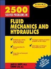 2,500 Solved Problems In Fluid Mechanics and Hydraulics, Liu, Cheng, Evett, Jack