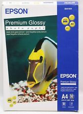 Epson Premium Glossy Photo Paper Resin with a Din A4 Shiny 50 Sheets New (L)