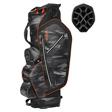 OGIO Ozone 14 Way Diamond Top 6 Pocket/Cooler Pocket Golf Cart Bag, Camo Burst