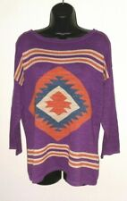 NEW Ralph Lauren Womens Size XL Chaps Pullover Navajo Sweater Multi NWT