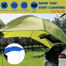 3-4 Person Roof Top Tent Camper Canopy Awning Sun Shelter Beach SUV Camping