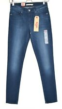 Womens Levis SKINNY 711 Mid Rise Blue Stretch Jeans Size 8 W26 L30 NEW