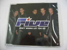 FIVE - DON'T WANNA LET YOU GO - CD SINGLE NEW SEALED 1999