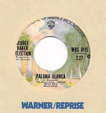 GEORGE BAKER SELECTION * 45 * Paloma Blanca * 1975 #29 UNPLAYED MINT ! ORIGINAL