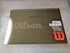 Wilson Official Baseball and Softball Score Book - Free Shipping!