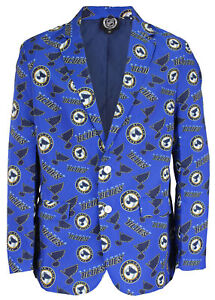 Forever Collectibles NHL Men's St. Louis Blues Repeat Ugly Business Jacket
