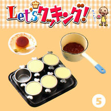 Rare! Re-ment Miniature Let's Cooking Dessert Kitchen No.5 Baked Pudding