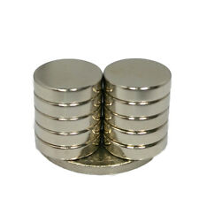 10pcs 12mm x 3mm N50 Grade Small Disc Round Cylinder Strong Neodymium Magnets