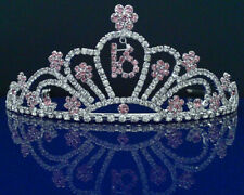 SparklyCrystal Sweet 16 Birthday Tiara 5208S9