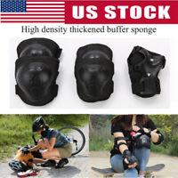 7PCS Kids Girls Boys Safety Protective Knee/Elbow/Wrist Guard Gear Pad Set US
