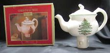 Spode Tea Pot Plug In Night Light Christmas Tree 1400827 Ceramic Boxed