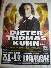 "Konzertposter "" Dieter Thomas Kuhn "" Hanau 2017"