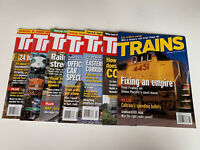 Trains Magazine Lot Of 7 Magazines From 2005 / 2008 Train Enthusiasts