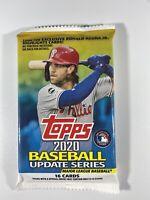 2020 Topps Baseball MLB: Update Series 16 Pack Factory Sealed