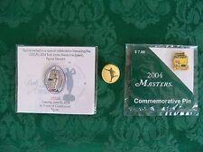 Pinehurst  Payne Stewart Pin-2004 Masters Pin-2014 Bob Jones Award Pin: Lot of 3