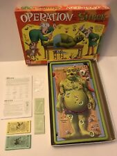 Operation Shrek Game Hasbro Works Great Retired 2004 Skill Game Age 6+