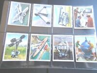 1938 MODERN WONDERS inventions planes Churchman Tobacco Card Set 48 collection
