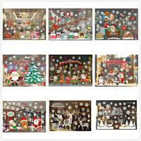 Merry Christmas Xmas Home Window Glass Wall Sticker Decal Restaurant Hotel Decor