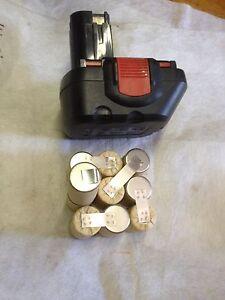 1 Bloc batterie 12 v 2Ah  ni mh accu D 23 L 32 spit bosch wurth ou berner
