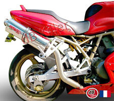 SILENCIEUX GPR TRIOVALE DUCATI SUPERSPORT SS 750 - POSITION HAUTE 1991/98