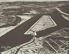 """NEWPORT BEACH Aerial View LIDO 1930's Photo Print 968 11"""" x 14"""""""