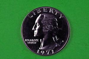 1971-S Deep Cameo Washington GEM  Proof US Quarter