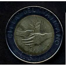 VATICANO Giovanni Paolo II 500 Lire 1984 bimetallico  FDC ( UNC)