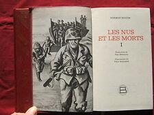LES NUS ET LES MORTS Norman MAILER 2 volumes 1981 Guerre - Illust. P. STRAUSFELD