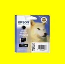 CARTUCCIA ORIGINALE EPSON STYLUS PHOTO r2880/R 2880 * t0968 Matte Black