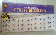 Halloween Spider Frenzy plafond suspendue DEC 10 ft (environ 3.05 m) Long Soirée Fantastique Fun