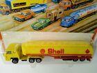 Playart Fastwheel Shell yellow fuel tanker 1960s/70s Hong Kong mint boxed
