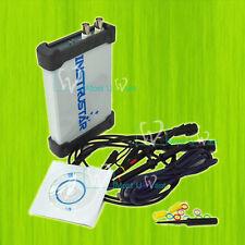 Virtual USB Digital Oscilloscope Dual Channel 60MHz 200MSa/s Spectrum Analyzer