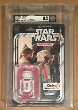STAR WARS 40th ANNIVERSARY • R5-D4 • AFA 8.5 • Age TEXT • GAMESTOP EXCLUSIVE
