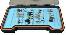 26 Pack Tenkara Flies - Assortment with silicone fly box