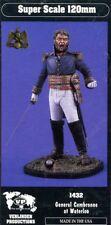 Verlinden 120mm 1:16 General Cambronne at Waterloo Resin Figure Model Kit #1432