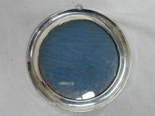 VINTAGE Art Deco Argento Sterling Appeso Cornice Circolare 125mm 1927