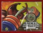 2012 Australia Animal Athletes $1 Coin - Rhinocerous Beetle Weight Lifting