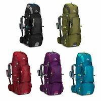 High Sierra Tech 2 Series Titan 55 Liter Frame Hiking Backpack - Choose Color