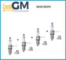 4 CANDELE BOSCH 0242135515 FIAT PANDA (169) 1.2 GPL - NATURAL POWER YR7DC+