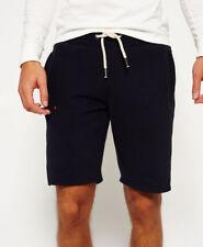 Superdry Mens Orange Label Slim Shorts in Truest Navy Blue Small