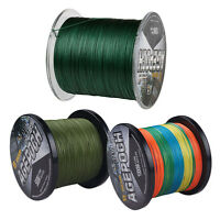 8 Strands Green Multicolor 300M Superb Power Dyneema PE Braided Fishing Line