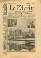 Abbaye Saint-Pierre de Solesmes Sarthe Pays de la Loire France 1910 ILLUSTRATION