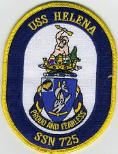 USS Helena SSN 725 - Ships Crest - BC Patch Cat # b408