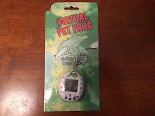 1990's Virtual Pet Frog Tamagotchi Giga Digital Virtual Electronic Pet White New