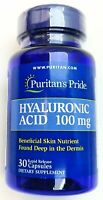 100mg Hyaluronic Acid 30 Capsules Skin Nutrient Health Support Supplement