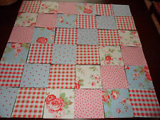 36 Quilting squares Cath Kidston Ikea Rosali Range 10cms Patchwork 100% Cotton