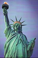Statue of Liberty, Copper Statue in New York City Harbor NY, Bartholdi, Postcard